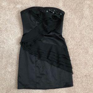 XOXO strapless dress Black